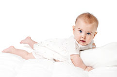甜婴孩 免版税图库摄影