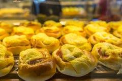甜小圆面包 免版税库存照片