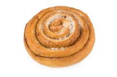 甜开胃小圆面包用糖 免版税库存图片