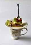 甜早餐饼莓果果冻 免版税图库摄影