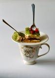 甜早餐饼莓果果冻 免版税库存照片