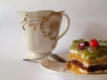 甜早餐饼莓果果冻 库存照片
