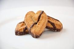 甜曲奇饼特写镜头的混合 库存图片