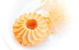 甜曲奇饼用堵塞 免版税库存图片