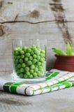 甜有机绿豆 免版税库存图片
