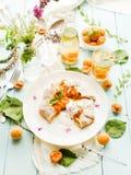 甜杏子饼 库存图片