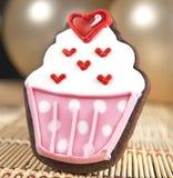 甜杯形蛋糕曲奇饼 免版税库存图片
