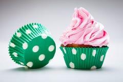 甜杯形蛋糕 免版税库存照片