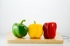 甜椒和辣椒 免版税库存照片