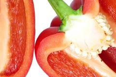 甜椒红色 免版税图库摄影