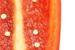 甜椒红色 库存照片