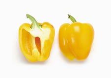 甜椒黄色 免版税库存图片