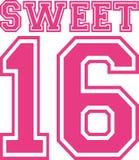 甜点十六16所学院样式 免版税库存图片