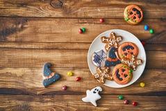 甜点和曲奇饼 免版税库存照片