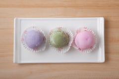 甜点和颜色 免版税库存图片