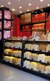 甜点在北京购物 库存图片