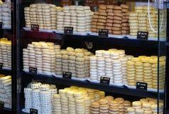 甜点在北京购物 库存照片