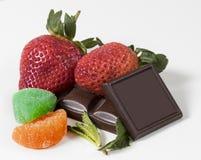 甜点的分类 免版税库存图片