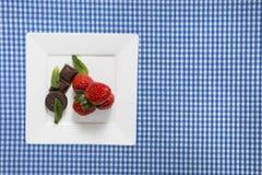 甜点的分类 库存照片