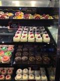 甜点蛋糕和混合药剂 库存图片