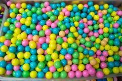 甜点颜色糖果 免版税库存图片