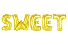 甜点,金子颜色 免版税图库摄影