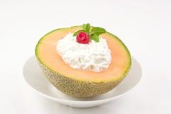 甜瓜快餐 图库摄影