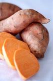 甜的土豆 免版税库存图片