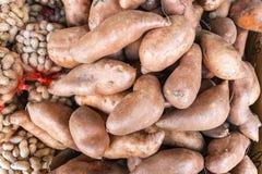 甜的土豆 免版税库存照片