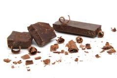 甜的巧克力 免版税库存照片