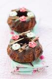甜的杯形蛋糕 库存图片