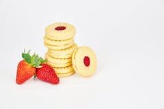 甜的饼干 免版税库存照片