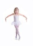 甜矮小的芭蕾舞女演员 免版税库存图片