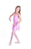 甜矮小的芭蕾舞女演员 图库摄影