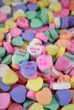 甜糖果的重点 库存照片