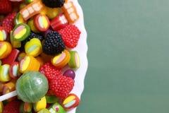 甜糖果软心豆粒糖颜色 免版税库存图片