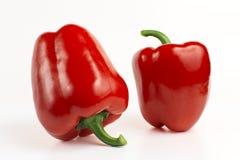 甜红色甜椒 免版税图库摄影