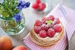 甜莓果子馅饼 免版税图库摄影