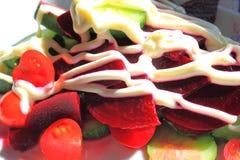 甜菜根沙拉 库存照片