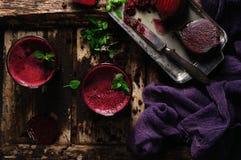 甜菜汁 图库摄影