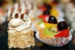 甜蛋糕的果子 库存照片