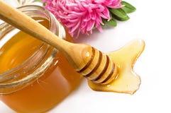 甜蜂蜜 库存照片