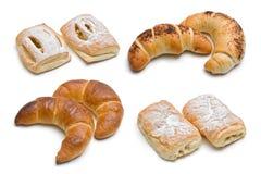 甜被分类的被烘烤的产品 免版税库存图片