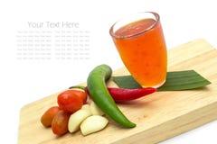 甜辣味番茄酱 免版税图库摄影