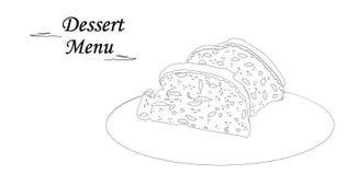 甜鲜美点心杯形蛋糕 免版税库存图片