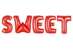 甜,红颜色 免版税图库摄影