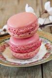 甜Macarons 免版税图库摄影