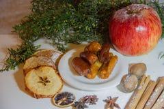 甜pestino圣诞节或复活节,特点安大路西亚 免版税库存图片