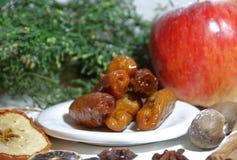 甜pestino圣诞节或复活节,特点安大路西亚 免版税图库摄影
