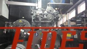 生产传动机,传动机线,传送带,陶瓷砖,窑firin,生产内部, Cer 影视素材